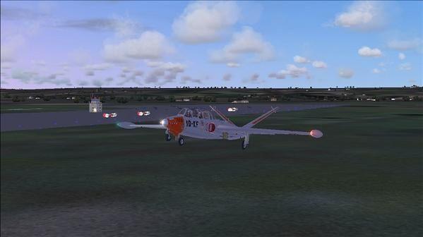 La tour donne l autorisation de décollage top c est parti