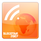 Logo Officiel Blogotour 2007