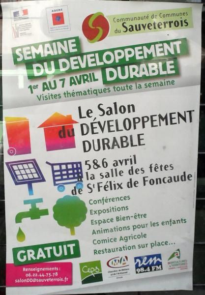 salon d veloppement durable 5 6 avril 2013 st f lix de