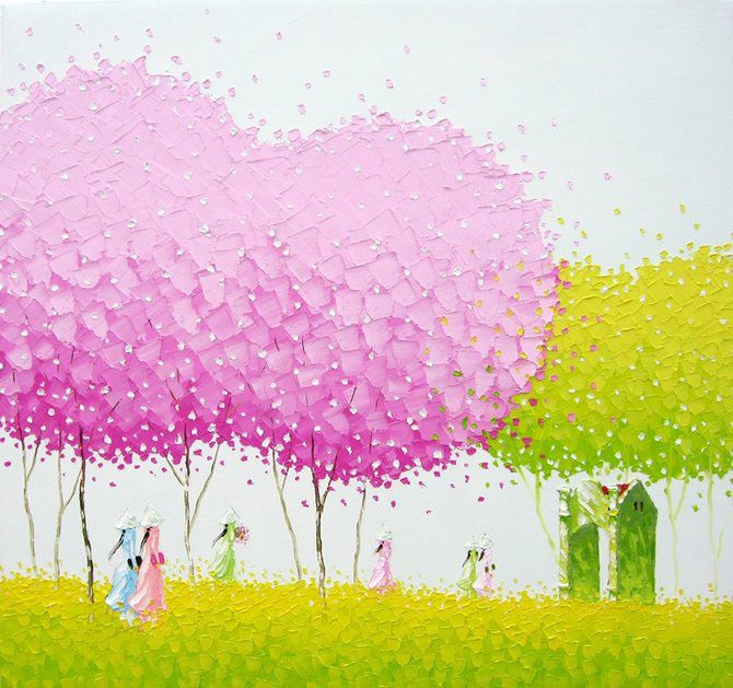 Phan Thu Trang paintings