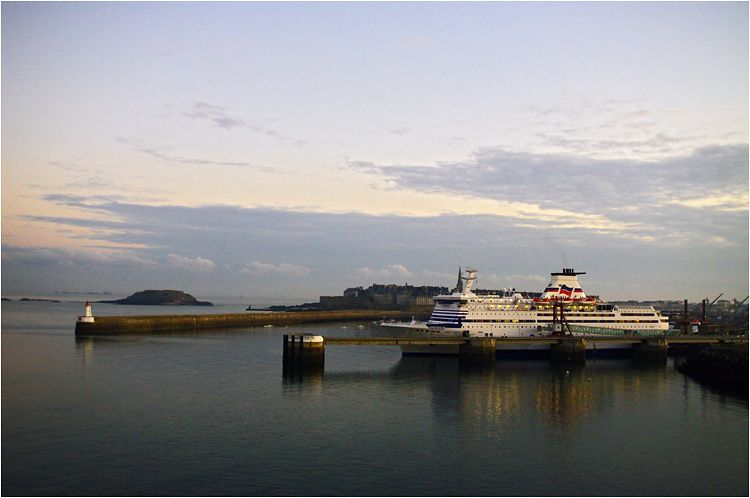 car-ferry le Bretagne à Saint Malo