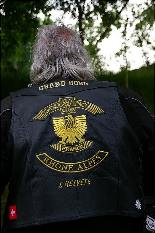 Rassemblement de près de 1200 motos Honda Goldwing venues de toutes l'Europe pour le week-end de l'ascension à Dinard