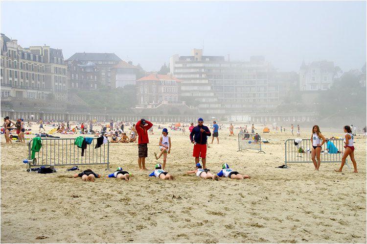 Championnat de sauvetage sportif côtier à Dinard 05 juin 2010.