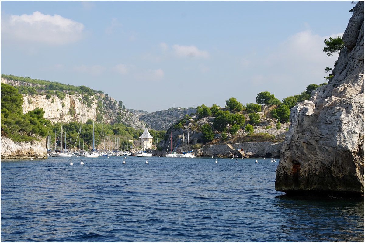 Visite en photo du port de Cassis et de 8 calanques.