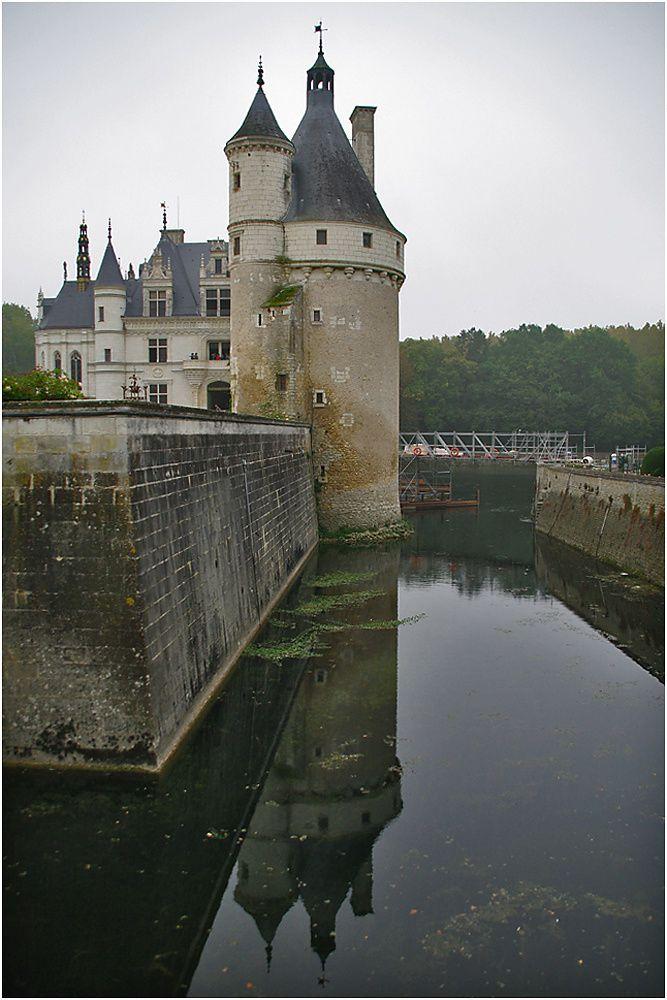Un petit aperçu du château de Chenonceau.