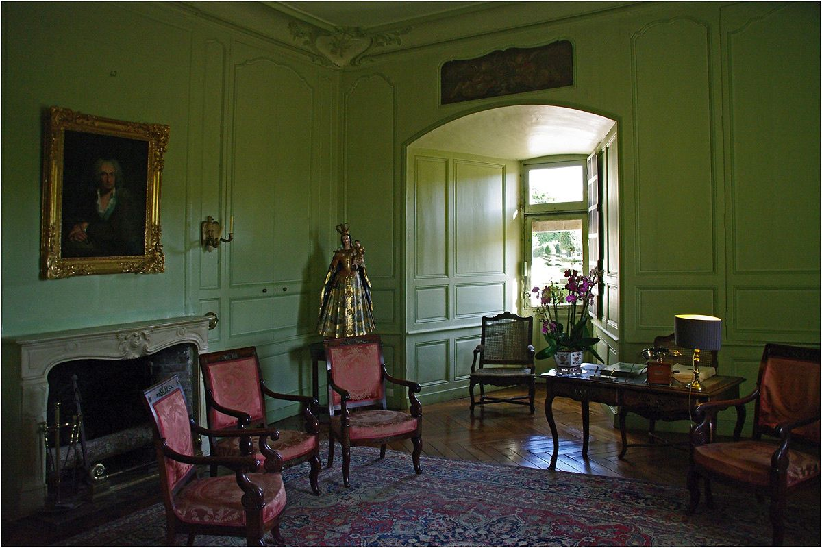 Le ch teau de villandry photos de l 39 int rieur photos for Interieur chateau