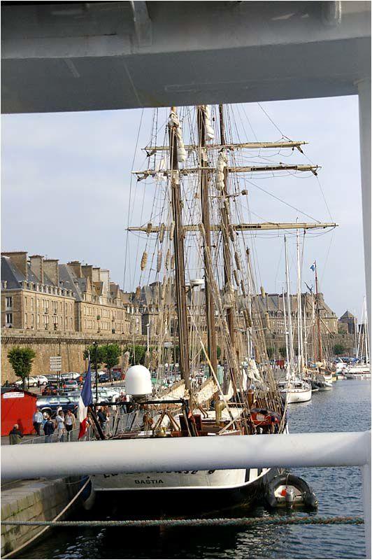 en escale à Saint Malo le 24 août.