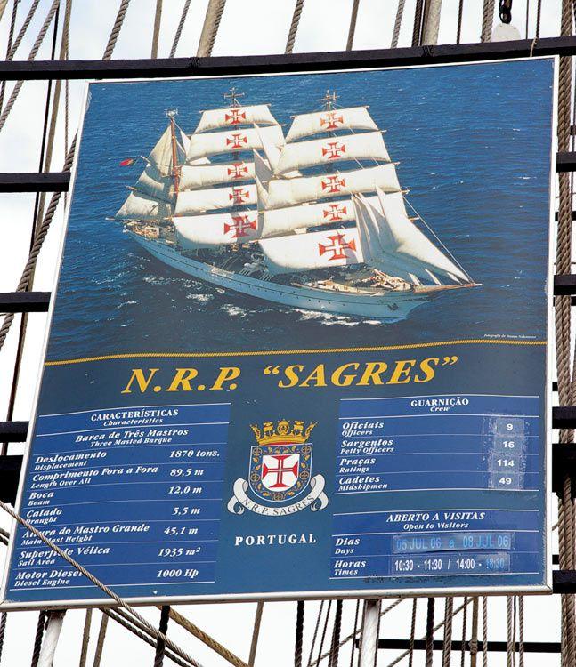 Rassemblement des grands voiliers à Saint Malo en 2006.