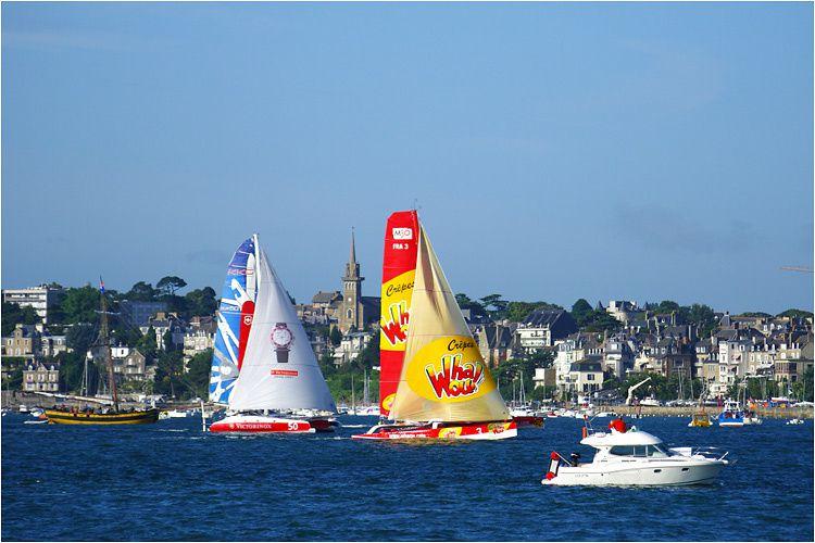 Tophée Malo ou grand prix des multicoques 50 pieds. Les 21,22 et 23 août à Saint Malo.