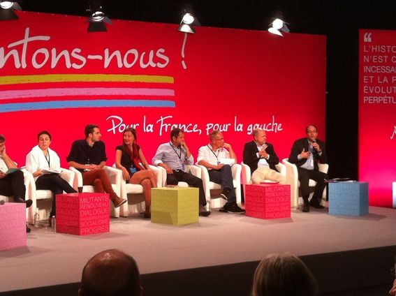 table ronde mouvement social Emmanuel