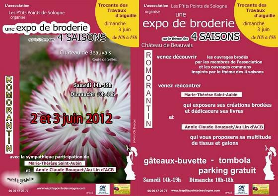 Expo broderie romo 2012