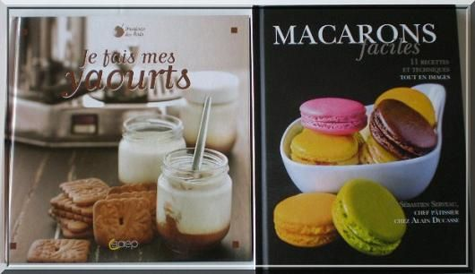 Je fais mes yaourts + macarons faciles