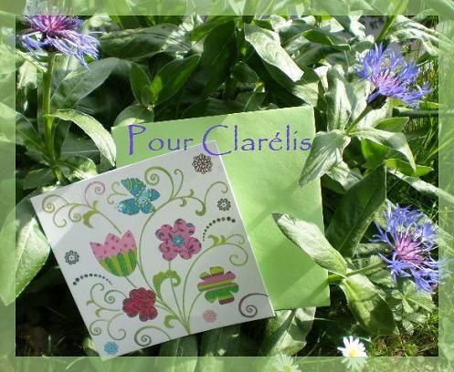 Carte pour Clarélis