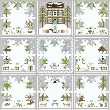 CCN-Frosty Forest-Raccoon Cabin m1