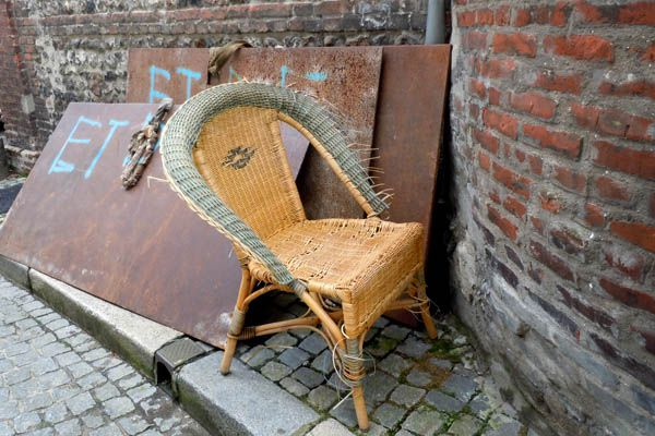 Chaise à Honfleur