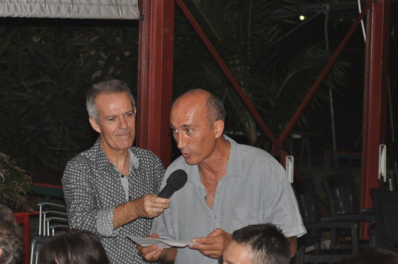 Soiree ASPTT du vendredi 20 avril 2012 à l'Amicale du Pays Basque, organisée par Charlotte DUVAL et Fred DANIEL