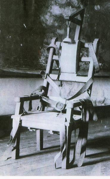 1890 kemmler le pionnier de la chaise electrique la plume et le rouleau. Black Bedroom Furniture Sets. Home Design Ideas