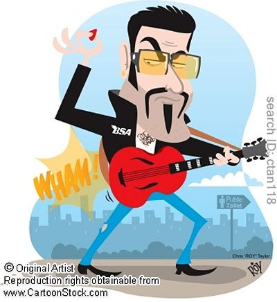 George Michael Caricature 04