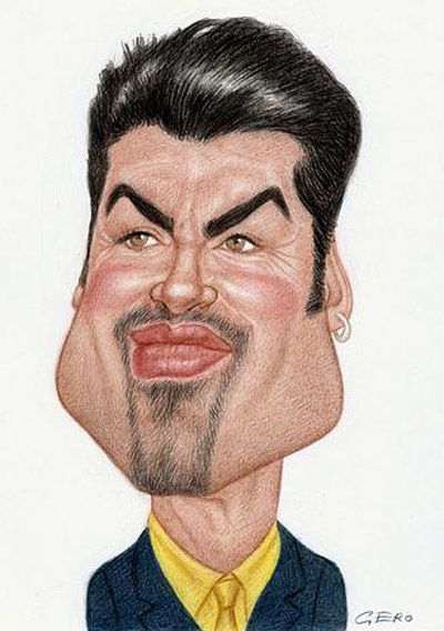 George Michael caricature 03