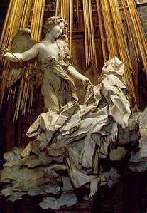 Le Bernin, L'Extase de Sainte-Thérèse, Chapelle Cornaro de Santa Maria Della Vittoria (Rome)