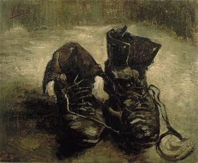 Van Gogh : Paire de Chaussures (1885) © Van Gogh Museum Amsterdam
