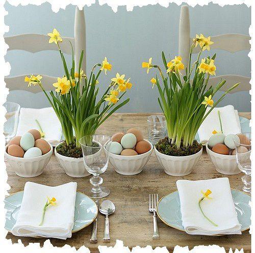 Des fleurs pour le printemps chezverobroderies - Deco table printemps ...
