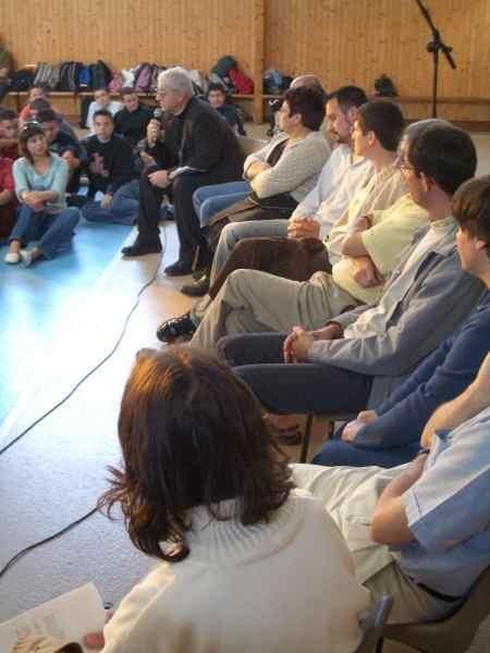 Mgr Bellino Ghirard et les témoins