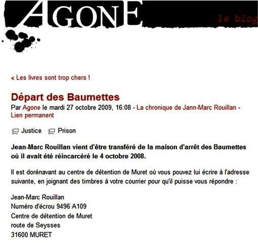AGONE - Jean-Marc ROUILLAN