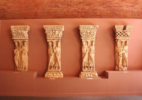 la salle Romane du Musee des Augustins