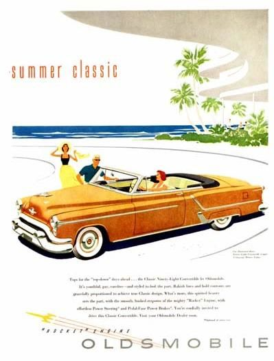 Oldsmobile Ninety Eight 1953 cabriolet