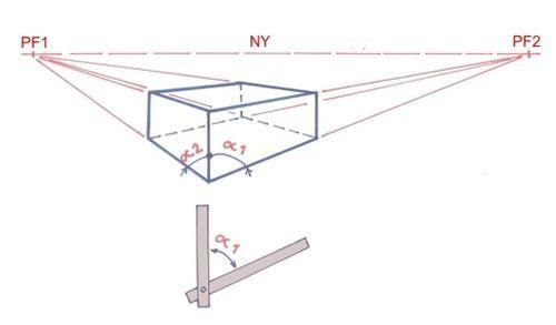 PERSPECTIVE A 2 POINTS DE FUITE - Les bases du dessin ... et de la ...