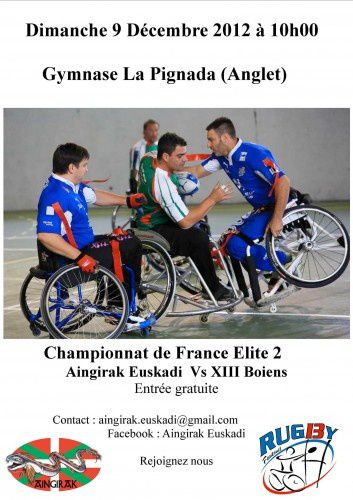 Rugby-fauteuil