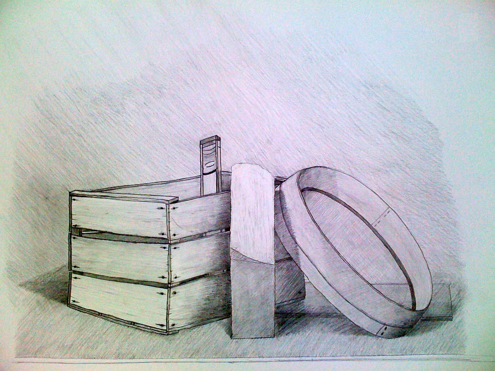 Pr sentation mozz 39 a que - Dessin nature morte ...