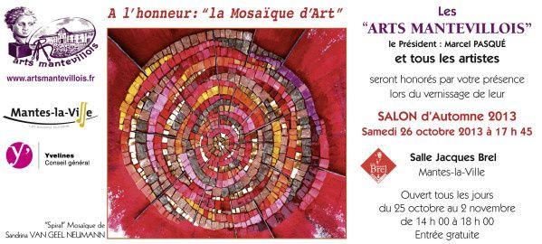 Mosaique d'art MANTES2013