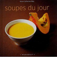 livre de recette de soupe