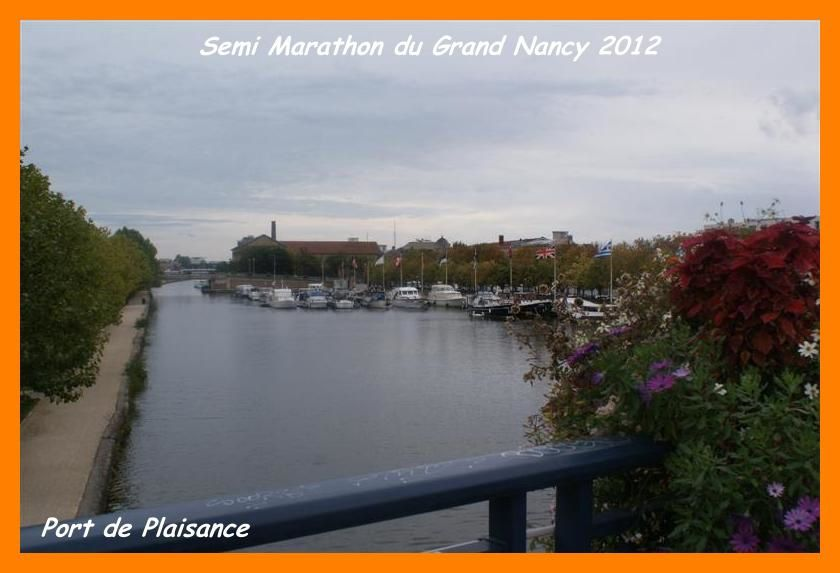 Semi marathon du grand nancy 2012 la veille le plaisir for Le jardin de plaisance 87