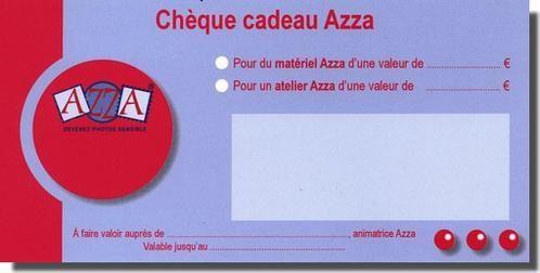 CHEQUE CADEAU AZZA