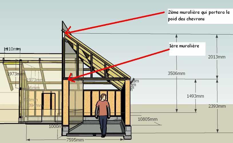 Construire un appenti en bois plan - Marc fait des plans pour construire un abri de jardin ...