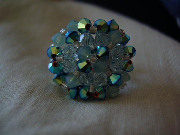 Bague agate turquoise