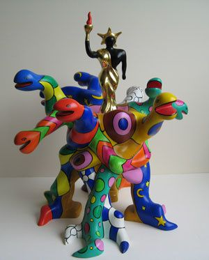 ST PHALLE - Labyrinth of love