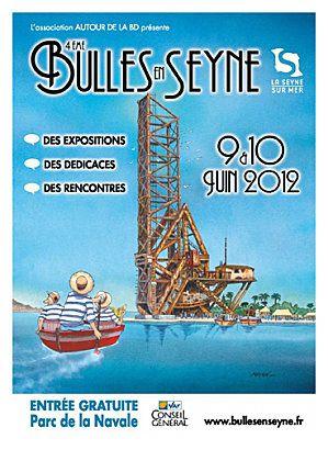 Festival BD La Seyne 2012