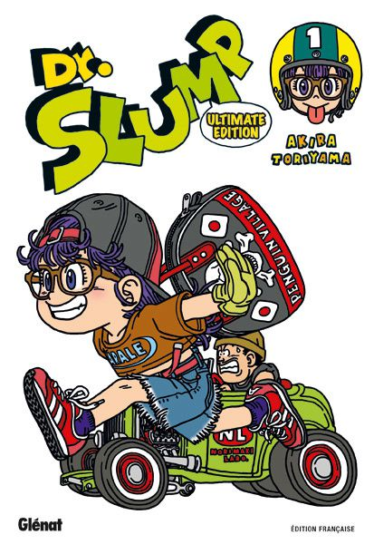Dr Slump T1 - Couverture