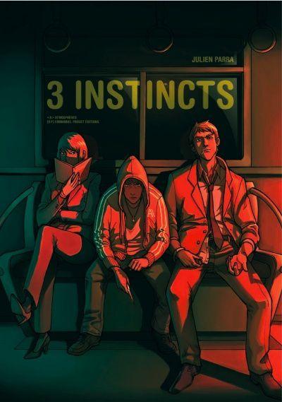 Trois Instincts - Couverture