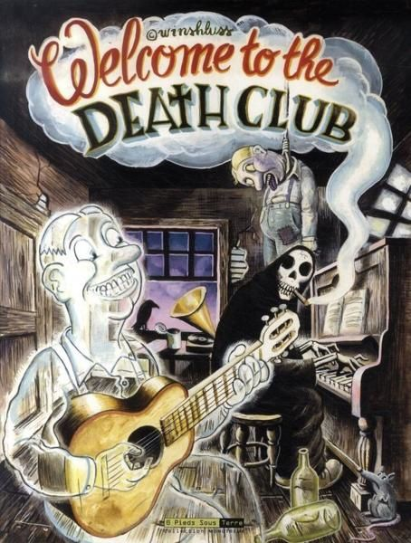Welcome to the death club - Couverture