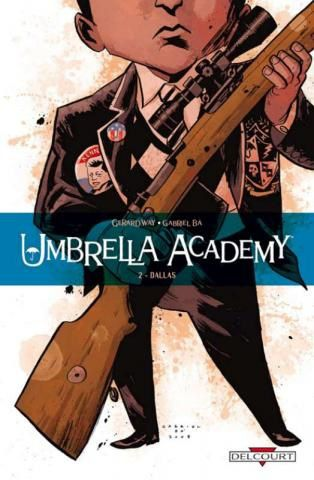 Umbrella Academy T2 - Couverture
