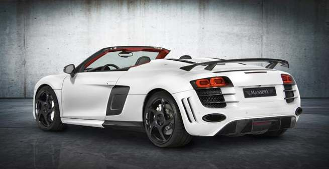 mansory audi r8 spyder 5 2 fsi. Black Bedroom Furniture Sets. Home Design Ideas