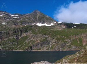 Etang d'Araing (1911m) - Pic de Crabre (2629m)