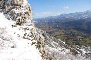Pays d'Olmes vu du pic de l'Aspre