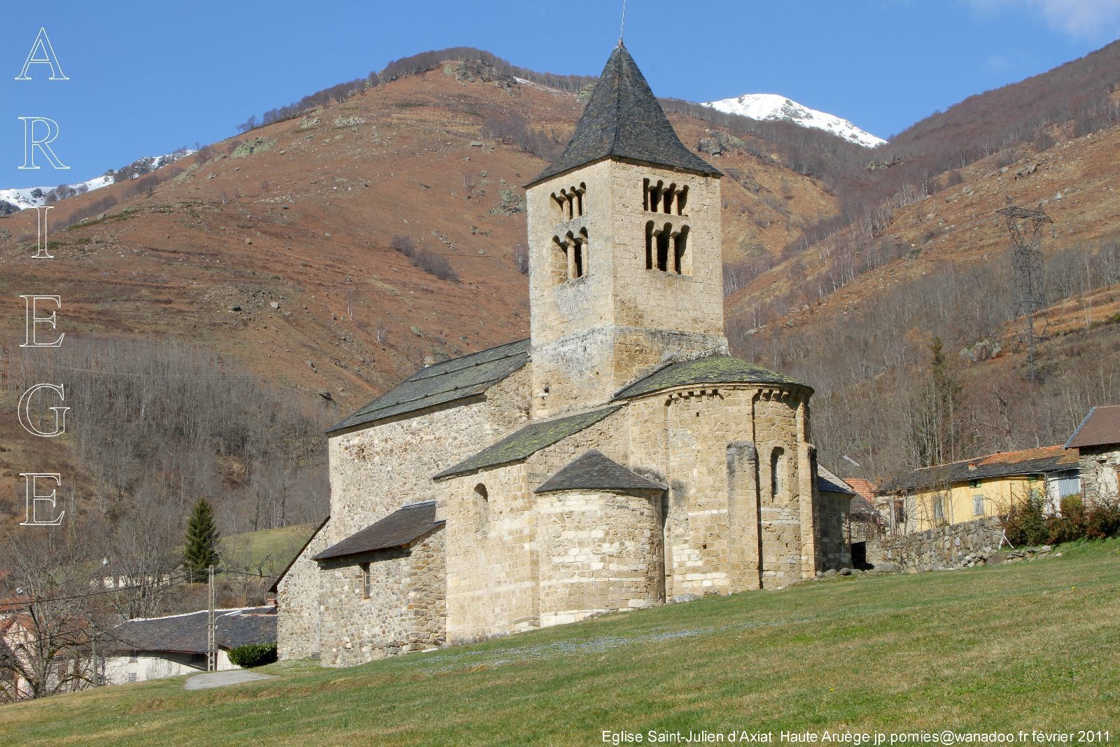 Eglise Saint Julien - Axiat