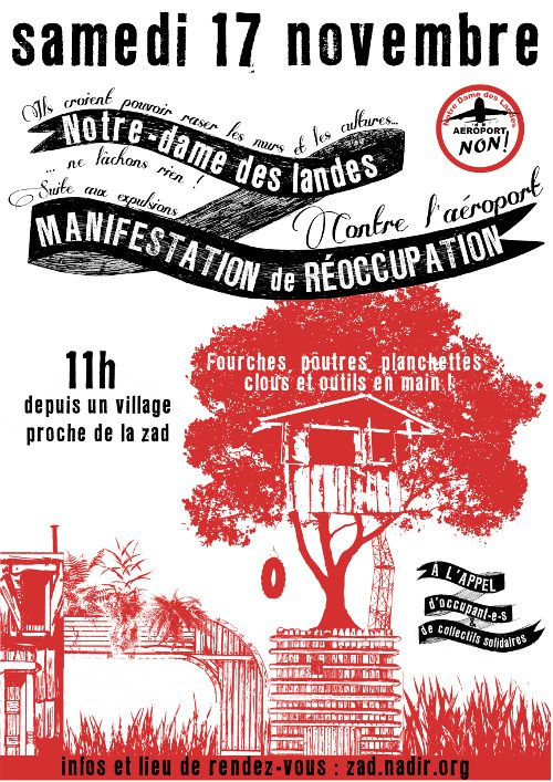 reoccupation #NDDL 17 nov
